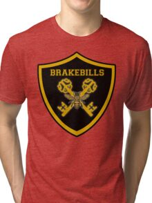 Crossed keys Brakebills Crest Large Tri-blend T-Shirt