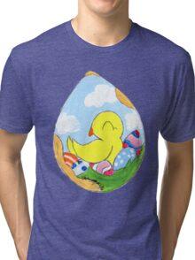 Egg Batch Tri-blend T-Shirt