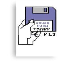 Amiga 500 Workbench Canvas Print