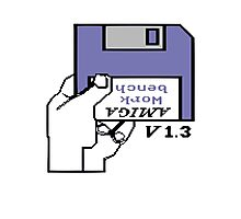 Amiga 500 Workbench Photographic Print