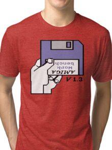 Amiga 500 Workbench Tri-blend T-Shirt