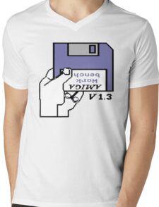 Amiga 500 Workbench Mens V-Neck T-Shirt