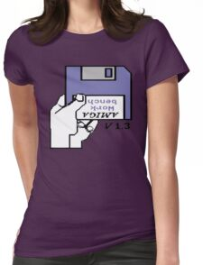 Amiga 500 Workbench Womens Fitted T-Shirt