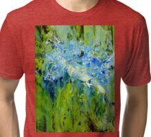 Deconstructed Hydrangea  Tri-blend T-Shirt