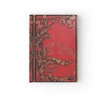 Red and Gold Thistles Hardcover Journal