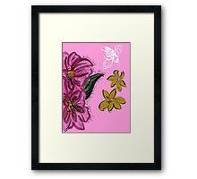 Survivor of Breast Cancer Framed Print