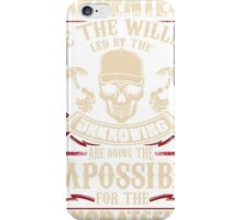 Carpenters.We the willing led by the unknowing iPhone Case/Skin
