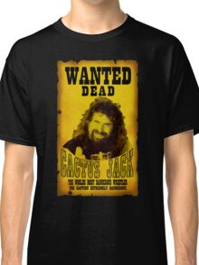 Wanted Dead Cactus Jack Classic T-Shirt