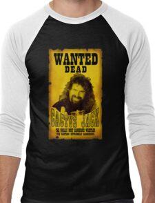 Wanted Dead Cactus Jack Men's Baseball ¾ T-Shirt