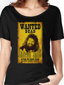 Wanted Dead Cactus Jack Women's Relaxed Fit T-Shirt