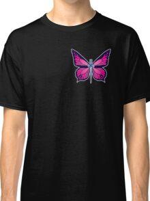 Ocean Butterflies Part 2 - Pale Pink Classic T-Shirt