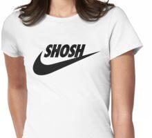 Sporty Shosh Black Womens Fitted T-Shirt