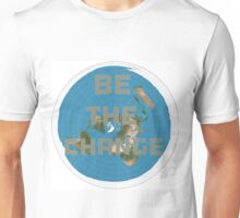 Flat earth be the change Unisex T-Shirt