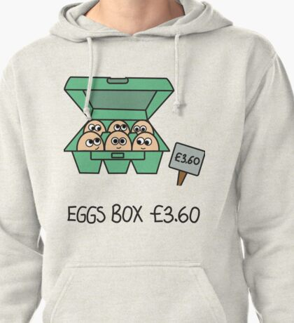 Eggs Box £3.60 Xbox 360 Pullover Hoodie