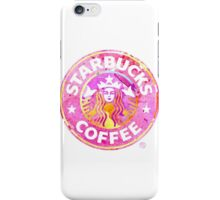 Starbucks Sticker  iPhone Case/Skin