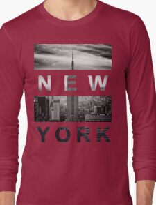 New York #1 Long Sleeve T-Shirt