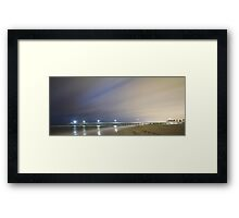 Grange Jetty Framed Print