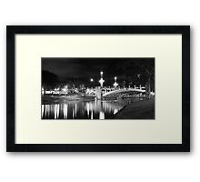 River Torrens & Jolleys Boathouse Framed Print