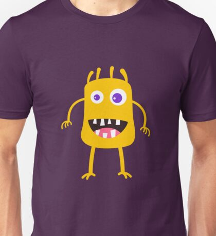 Goofy yellow monster Unisex T-Shirt