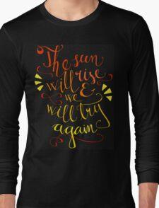 Twenty One Pilots lyrics Long Sleeve T-Shirt