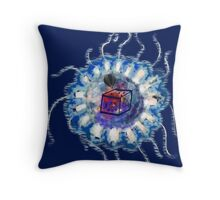 Jelly Belle Throw Pillow