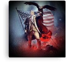 Donald Trump Leading America Out of Hell... Canvas Print