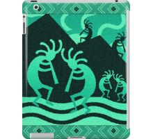 Southwest Design Turquoise Kokopelli iPad Case/Skin