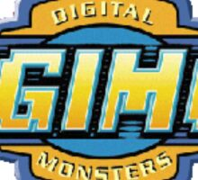Digimon Logo  Sticker