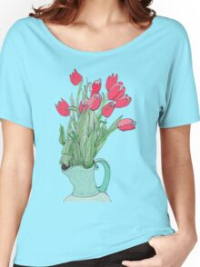 Springtime Tulips * Women's Relaxed Fit T-Shirt