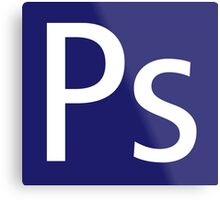Ps - Photoshop Metal Print