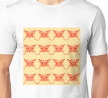 Butterfly Red Unisex T-Shirt