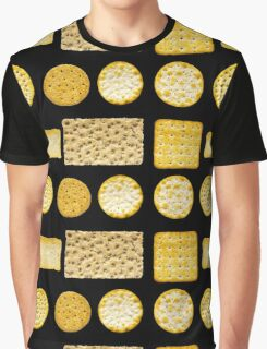 Savoury Biscuits and Crackers Graphic T-Shirt
