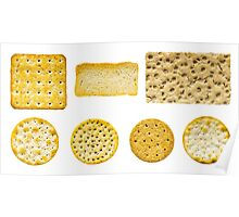 Savoury Biscuits and Crackers Poster