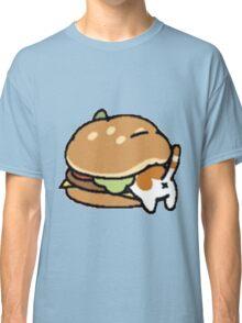 Neko Atsume Cheese Burger Classic T-Shirt