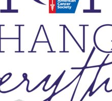 Hope Changes Everything Sticker