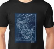 American Revolutionary War Era Maps 1750-1786 140 A new and accurate chart of the harbour of Boston in New England in North America Inverted Unisex T-Shirt