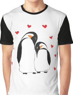Penguin Partners - Vday edition Graphic T-Shirt