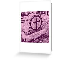 Pink Death Greeting Card