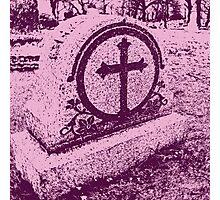 Pink Death Photographic Print
