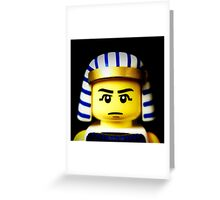 EGYPTIAN WARRIOR Greeting Card