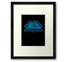 Blue Moon Detective Agency Framed Print