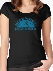 Blue Moon Detective Agency Women's Fitted Scoop T-Shirt