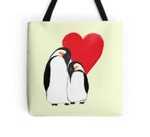 Penguin Partners - Vday edition 2 Tote Bag