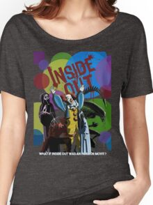 What if Iside Out was an horror movie? Women's Relaxed Fit T-Shirt
