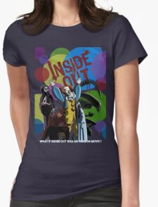 What if Iside Out was an horror movie? Womens Fitted T-Shirt