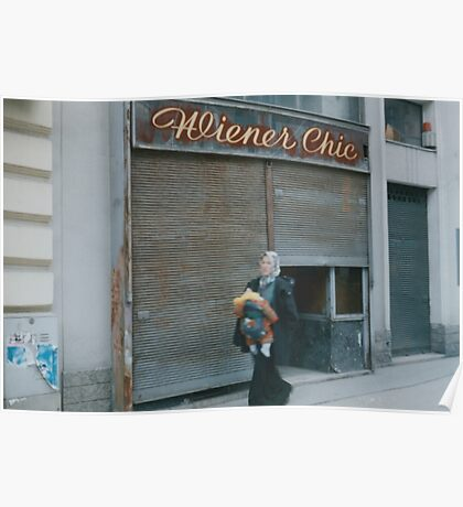 Wiener Chic Poster