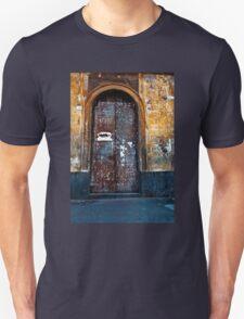 Old Sicilian Door of Catania Unisex T-Shirt