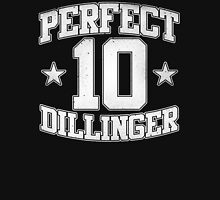 Perfect 10 - White on Black T-Shirt