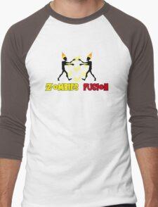 Zombies fusion! - Sayan style Men's Baseball ¾ T-Shirt