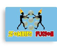 Zombies fusion! - Sayan style Canvas Print
